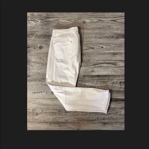 White Jeans Size 18